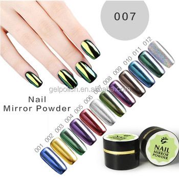 Chrome Aluminum Paste Nail Powder For Acrylic Nails
