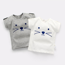 Casual Child Clothes Summer Cotton Boys T Shirt