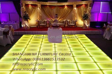 Event RGB LED Commercial Lounge Furniture led outdoor furniture acrylic wedding table
