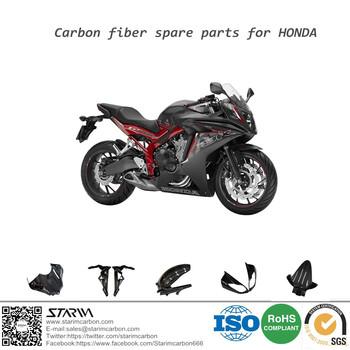 A Fibra De Carbono As Peças Da Motocicleta Para Honda CBR Todas As Séries  De Peças
