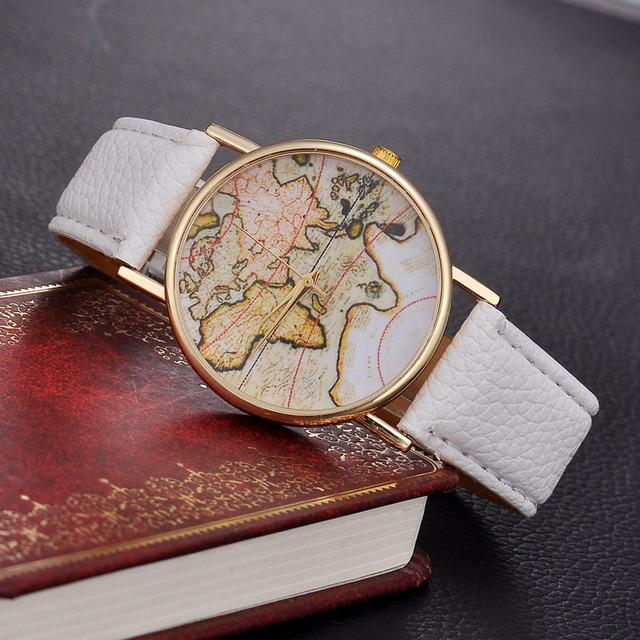 Relojes vintage source quality relojes vintage from global relojes relojes vintage earth world map watch alloy women men analog quartz wrist watches gumiabroncs Image collections