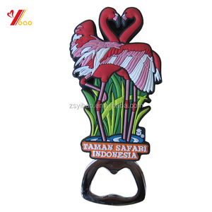 High class customized design 3d PVC bottle opener /metal bottle opener /Anchor bottle opener