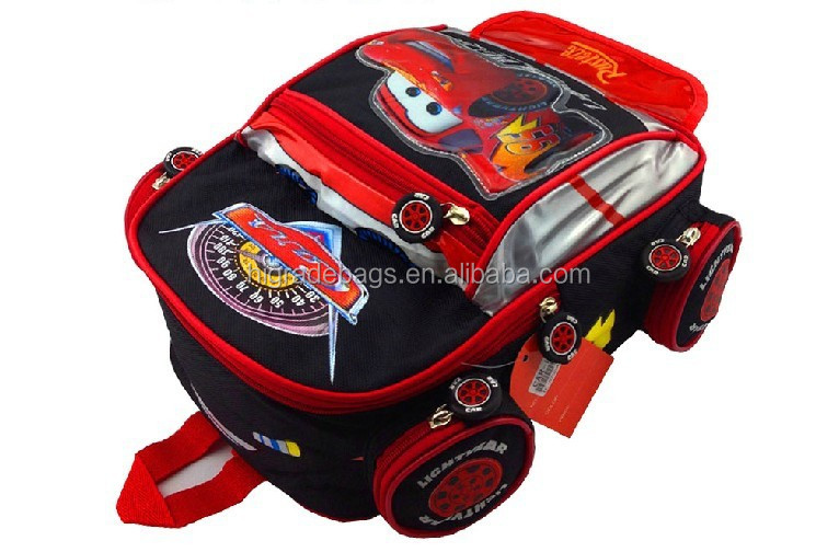 2017 3d school bag, cartoon school bag