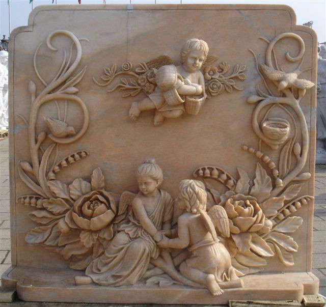 Chinese stone carving home decoration marblesculpture wall