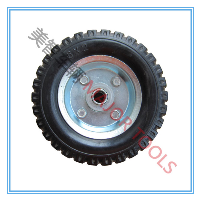 small solid wheel rubber tyre 6x2 for toy