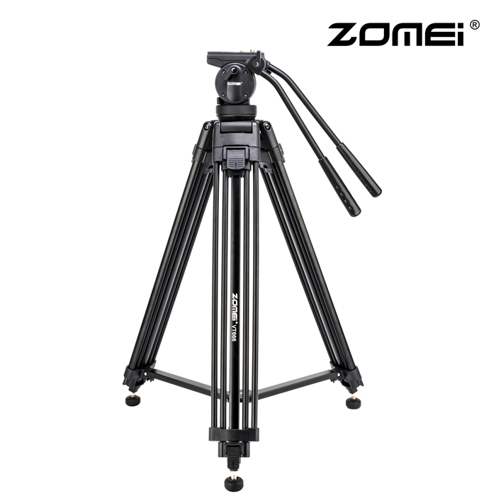 ZOMEI VT666 Professional Heavy Duty DV Camcorder Camera Tripod Stand Fluid Head
