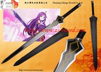 cartoon & anime extra edition SAO sword art online cosplay sword Konno Yuuki steel sword