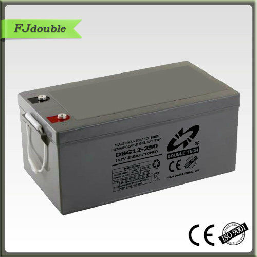 Popular in Asia market 12v 250ah exide ups batteries solar cell storage battery