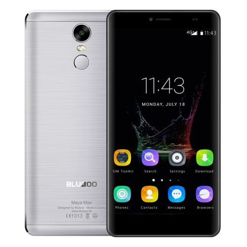 In stock Original BLUBOO Maya Max 3GB+32GB smartphone 6.0 inch Android 6.0 Dual SIM, Network: 4G moblie phone