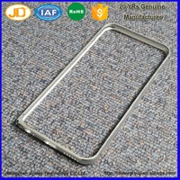 Precision Machining Metal Bumper Case Mobile Bumper Cover Metallic Mobile Phone Cover