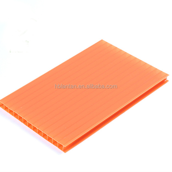 China Manufacturer plastic roof materials polycarbonate pc hollow sheet price