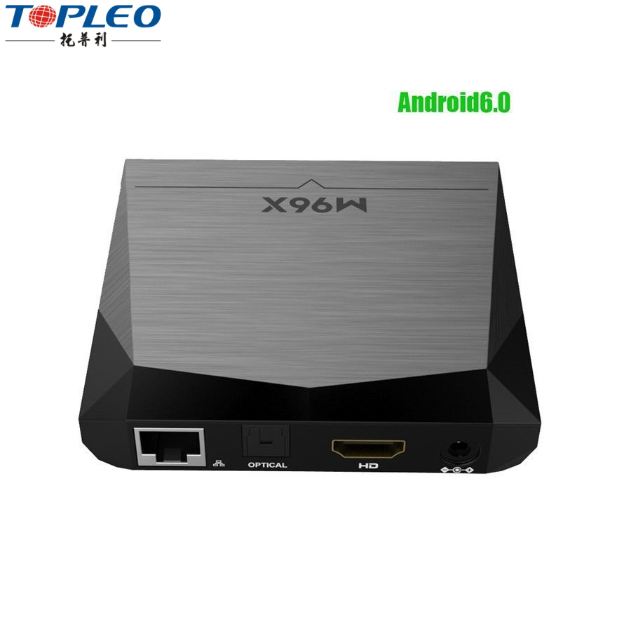2017 Amlogic m96 s905x best 64 Bits Android6.0 tv box 4K WiFi With 2GB RAM 8GB ROM m96x