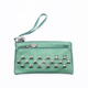 small wallet handbag with metal studs for lady