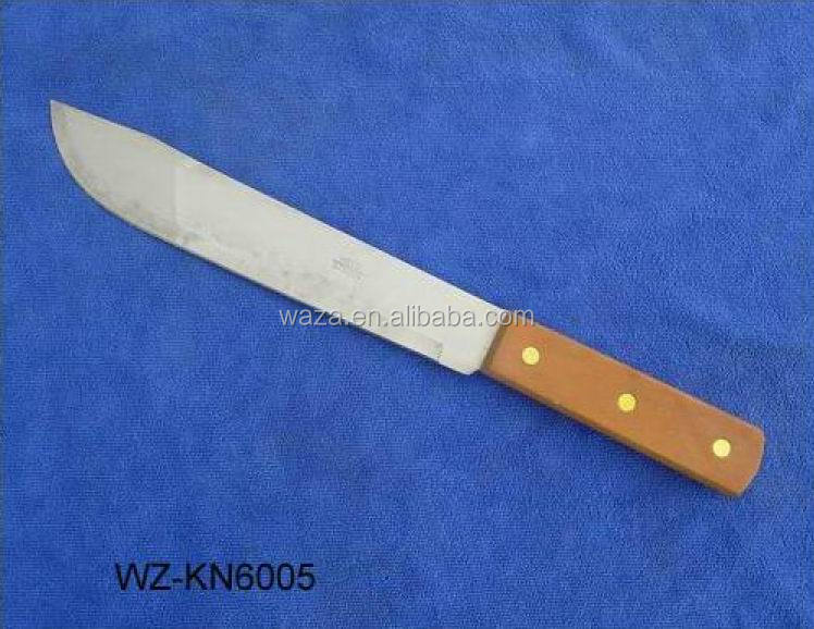 multifunction knife with wooden handle