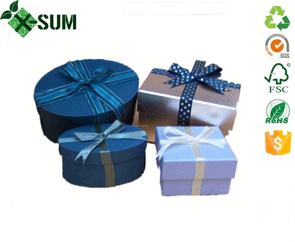 Large Round Empty Decorative Christmas Gift Box With Lids Buy Round Empty Decorative Christmas Gift Box Gift Boxes With Magnetic Lid Large Christmas