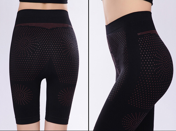 Far Infrared Magnet Therapy Body Shaper Pants Burning Fat Slimming Shape Pants