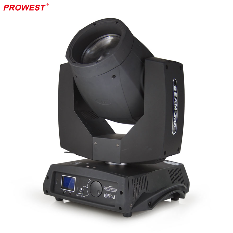 7R Beam 230W Wash DMX512 Frost Zoom Moving Head Stage lights DJ Disco Music Show