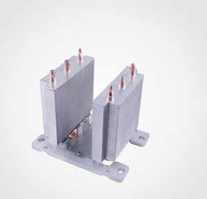 ISO certified square copper pipe heat sink