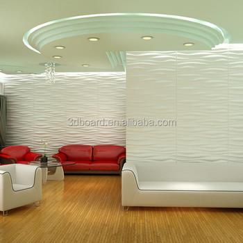 Modern Design 3d Floor Sticker Wall Covering Curved Wall 3d Panels