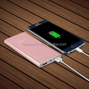 Slim power bank portable charger 7000 mah unicorn power bank