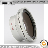 Optical Glass 2 in 1 Wide Angle Macro Lens Universal For iphone Samsung Lens Mobile Phone Lens Camera