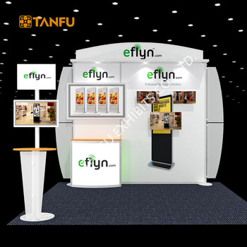 Exhibition Stall Layout : Tanfu 10x10 or 10x20 variable layout portable exhibition booth with