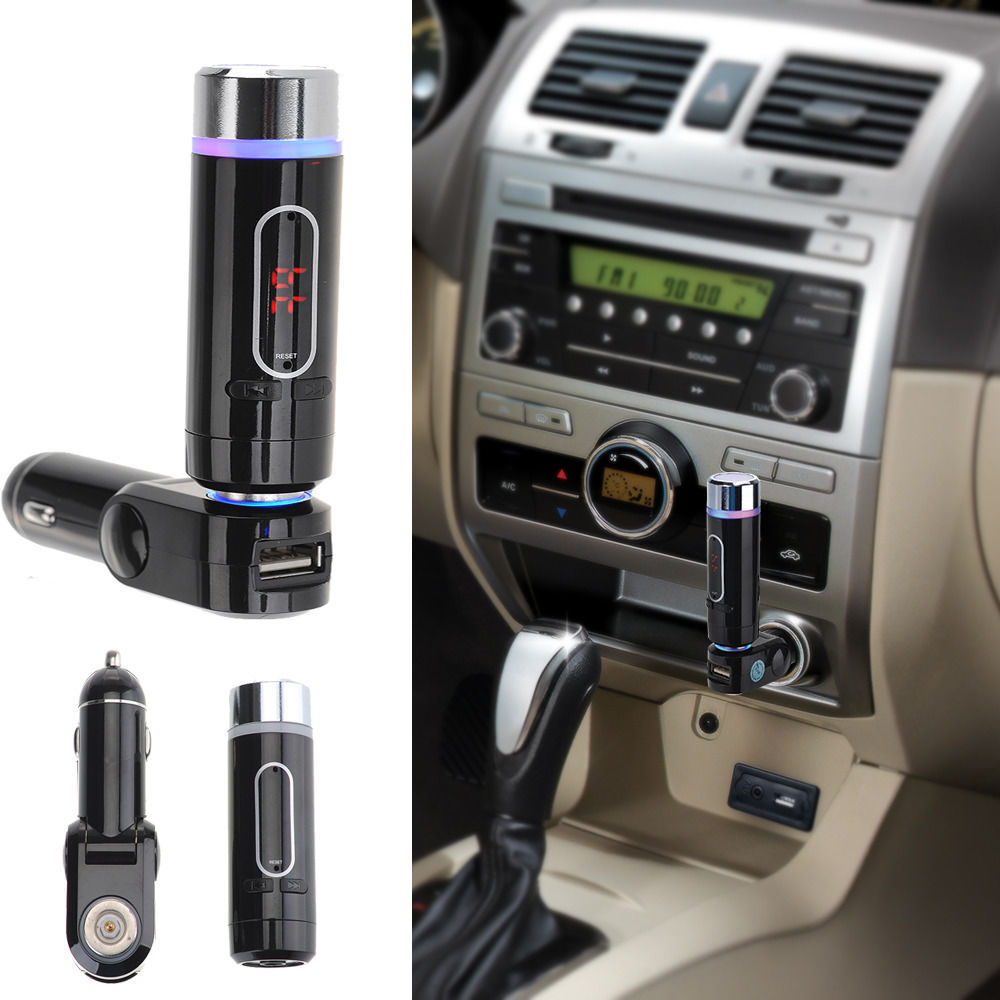 a2dp wireless car fm transmitter bluetooth music receiver. Black Bedroom Furniture Sets. Home Design Ideas