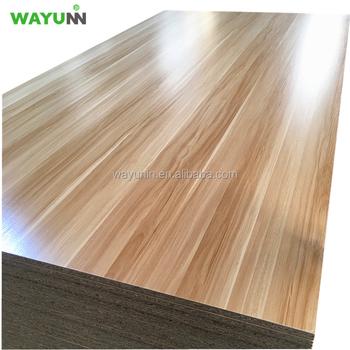 E2 Glue 4x8 18mm Pre Laminated Melamine Particle Board For Kitchen Cabinets