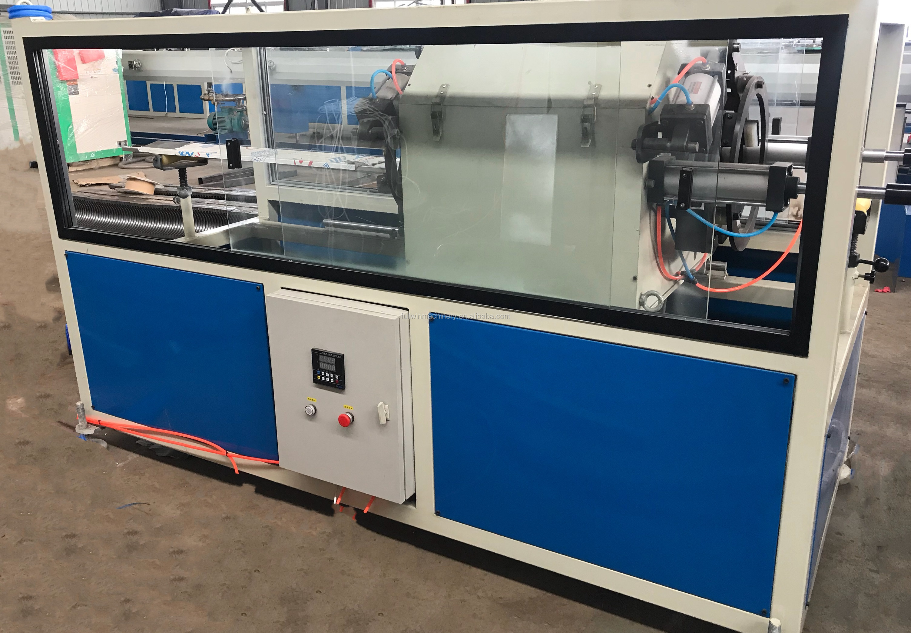 HDPE/PP  Double Wall Corrugated Pipe Extrusion Line  DWC Machine from Qingdao fullwin
