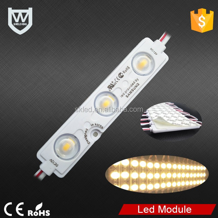LED PVC material 5730 SMD LED module for channel letter 3 years warranty