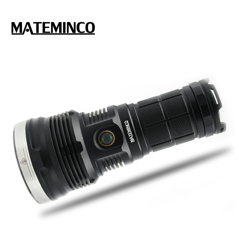 Mateminco MT70 <strong>CREE</strong> XHP70.2 LED 6000 Lumens 1039 Meters Long Throw High Lumens LED Flashlight for Hunting, Camping, Searching