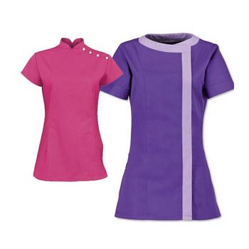 Women beauty salon uniform spa uniform buy salon uniform for Spa uniform alibaba