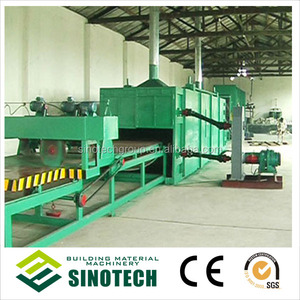 China Building Thermal Insulation Mineral Wool Roll/Rock Wool Board/Glass Wool Production Line