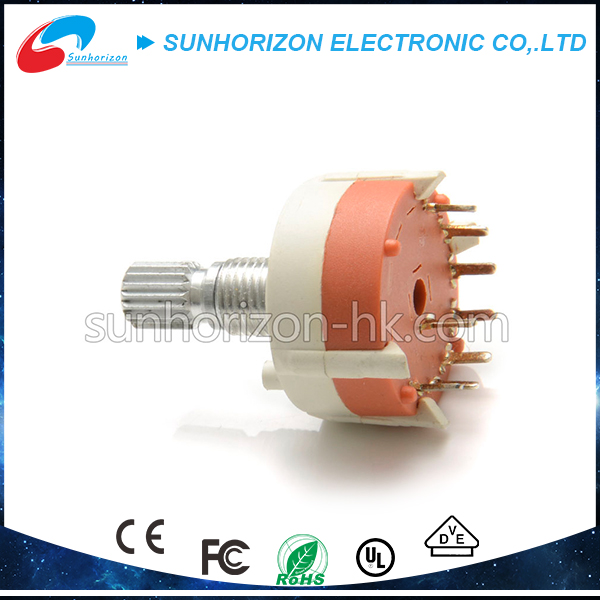 Summer wholesale high quality 12mm rotary potentiometer with switch