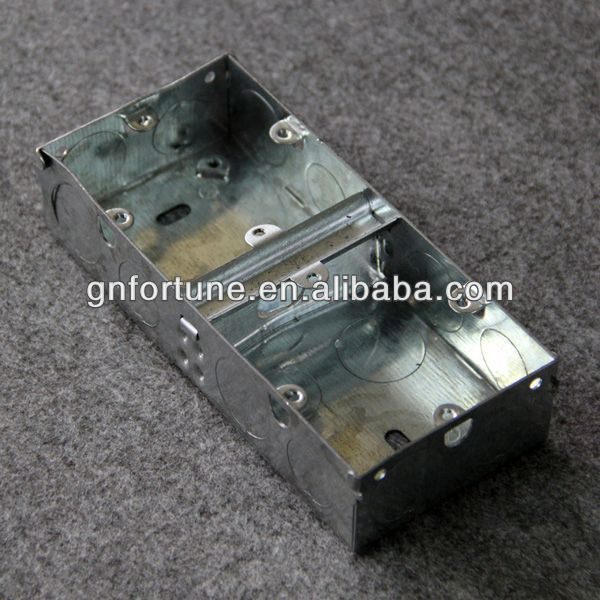 China Manufacturer 1 gang plastic junction box