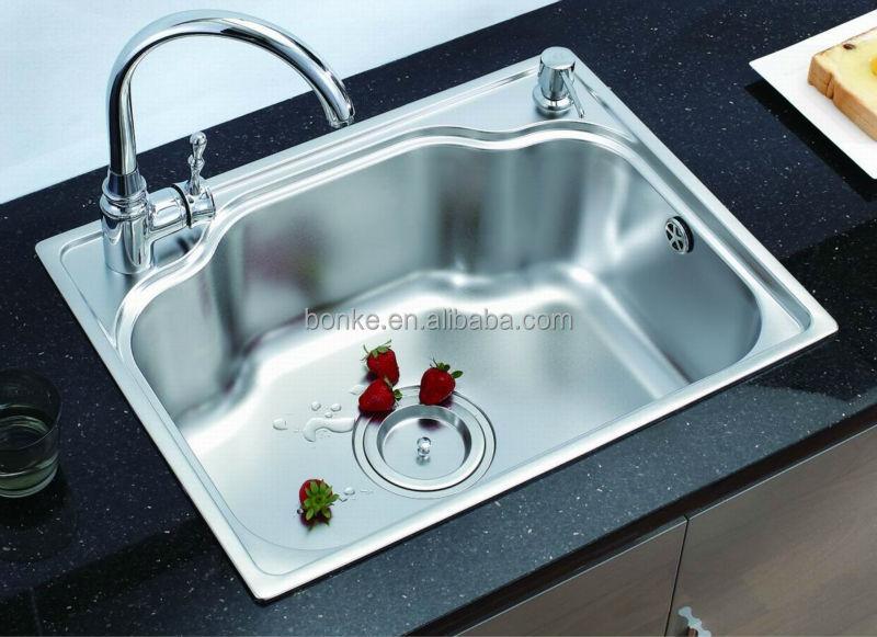 Above Counter Kitchen Sink(basin) Of Kl-610,Stainless Steel Kitchen Sink -  Buy Kitchen Sink,Stainless Steel Sink,Topmount Sink Basin Product on ...