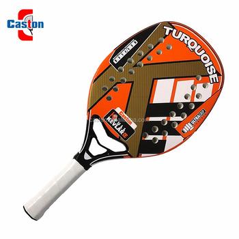 Popular beach paddle racket set/wooden beach tennis bat