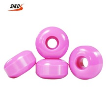 Wholesale skateboard wheel polyurethane 54mm wheels skateboard multi Color OEM logo