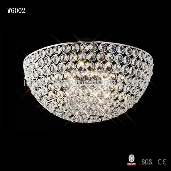 Crystal Wedding Decorations Bedroom Night Light Wall Lamp Crystal