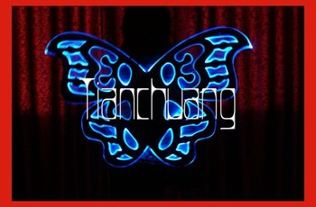 Full Color Led Angel Wing/lighted Angel Wings For Stage Show/light ...
