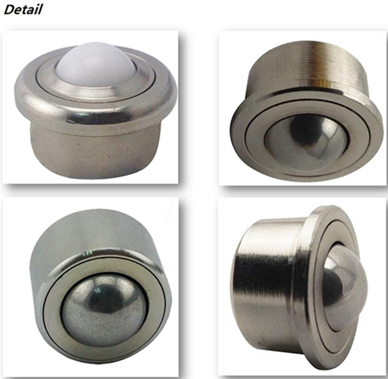 hot sale industrial casters chrome steel 25a ball transfer bearing unit for cargo table