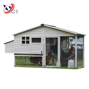 Automatic Door White Poultry Farm House Design Wholesale