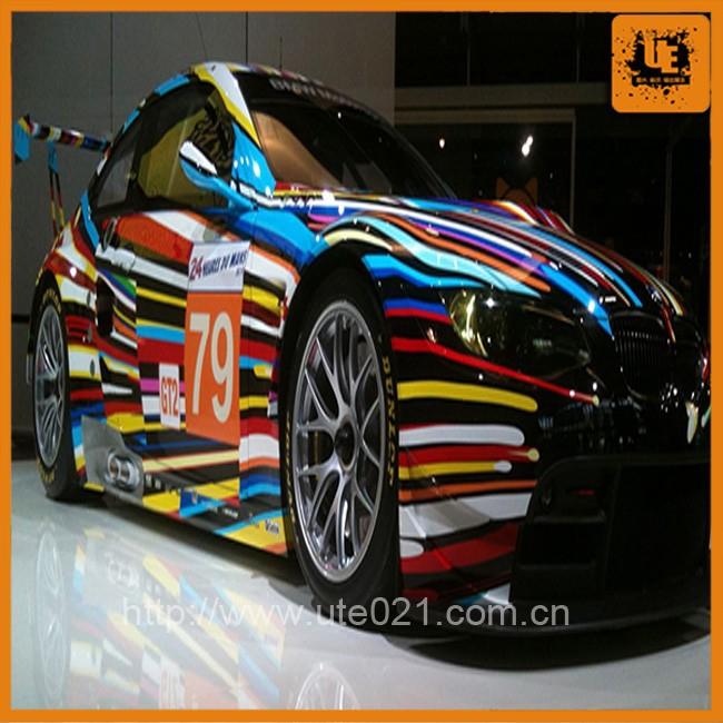 Shanghai Factory Fashion Sports Car Body Sticker Design For Sale
