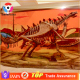 Museum Dinosaur Skeleton Artificial Dinosaur Bones Fossil Replica For Sale