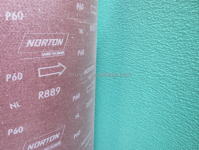norton abrasives R889 ( abrasive cloth) for metal, stainless steel etc.