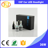 auto led bulbs made in China 36w headlight kits 9006 hb4 C6F led headlight