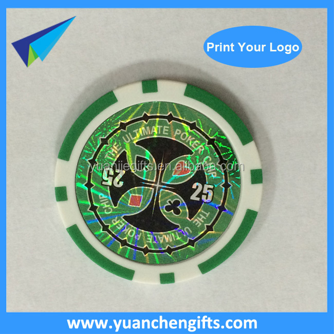 Plastic ABS cheap custom made round rectangular poker chips