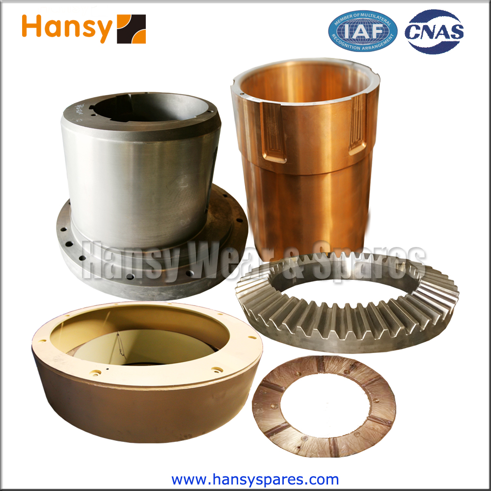 cone crusher parts replacement method