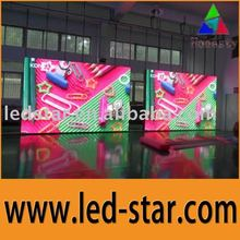 Alibaba ali express export 2012 HOT selling PH25 outdoor full color flexible led display screen
