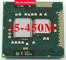 Lifetime warranty Dual Core i5 450M 2.4GHz 450 Notebook processors Laptop CPU PGA 988 Official version  Computer Original